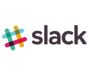 Slack logo for Jobbio Higher tech job fair in London